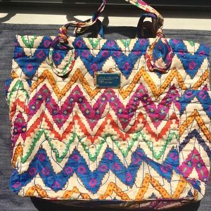 Marc Jacobs Multicolor print quilted tote